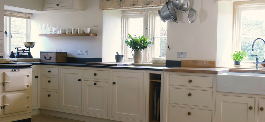 Bespoke Painted Farm House Kitchen