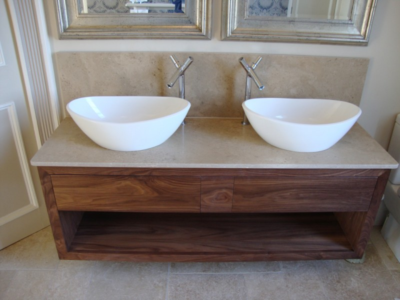 Twin Bathroom Sinks : Crafted Bathrooms